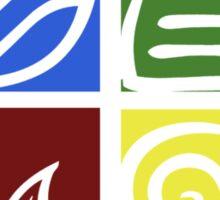 Four Elements - Simple Sticker