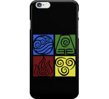 Four Elements - Simple iPhone Case/Skin