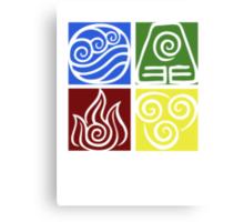 Four Elements - Simple Canvas Print