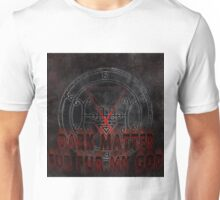 dark matter album cover logo Unisex T-Shirt