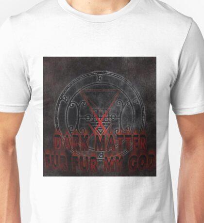 dark matter album cover logo Unisex T-Shirt