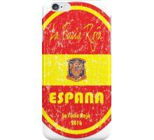 Euro 2016 Football - Espana iPhone Case/Skin
