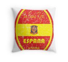 Euro 2016 Football - Espana Throw Pillow