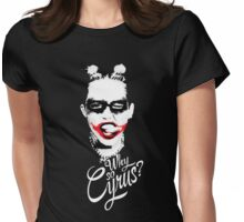 WHY SO CYRUS Womens Fitted T-Shirt