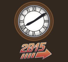 Back to the Future Clock 2015 by glucern
