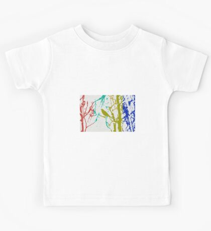 Songbird Abstract Kids Tee