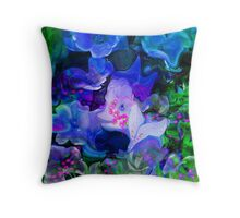 Duchie The Little Duckie Of The Imaginery Garden Throw Pillow