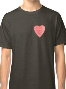 red tin heart Classic T-Shirt