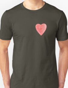 red tin heart T-Shirt