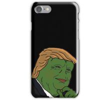 Donald 'Pepe' Trump the Smug Frog iPhone Case/Skin