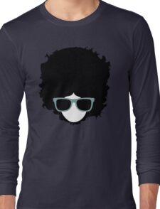 Hipster (wearing glasses) Long Sleeve T-Shirt