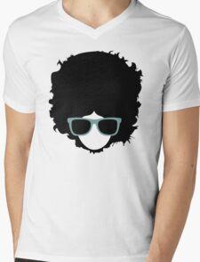 Hipster (wearing glasses) Mens V-Neck T-Shirt
