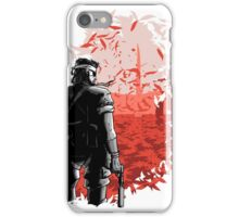 Big Boss Red  iPhone Case/Skin