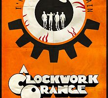 Singin' In The Rain - A Clockwork Orange Poster by edwardjmoran