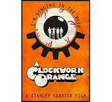 Singin' In The Rain - A Clockwork Orange Poster Photographic Print