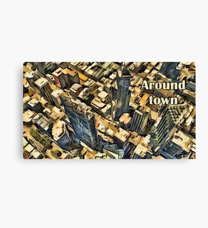 Around town Canvas Print