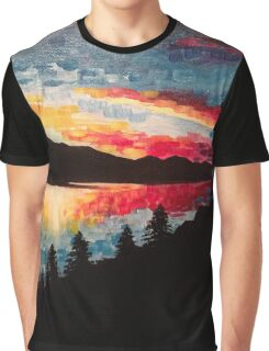 Horsetooth Resevoir Graphic T-Shirt