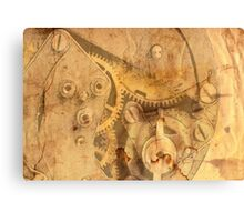 clockwork mechanism Canvas Print