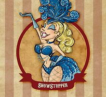Cirque D'Burlesque: The Showgirl by artemissart