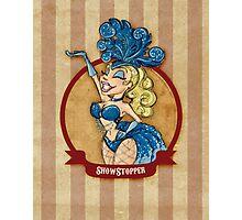 Cirque D'Burlesque: The Showgirl Photographic Print