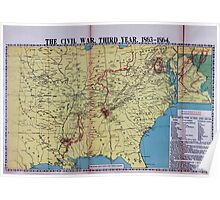 Civil War Maps 1113 McConnell's Historical maps of the United States 03 Poster