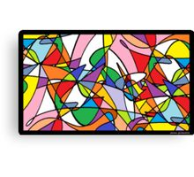 Stayned Glass Window Canvas Print