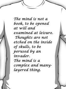 Snape-The mind T-Shirt
