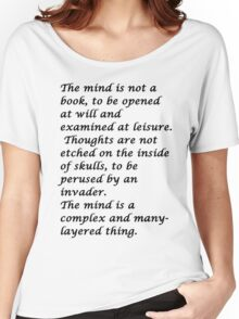 Snape-The mind Women's Relaxed Fit T-Shirt