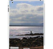 Fisherman on Rocks iPad Case/Skin