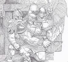 Dwarfs by matthewsart