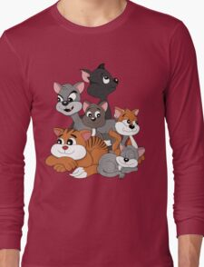Cartoon cats Long Sleeve T-Shirt