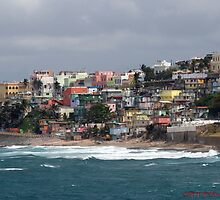 Colorful city landscape by JVanPhotography