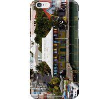 Colorful Caribbean seaport iPhone Case/Skin