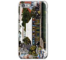 Colorful Caribbean seaport iPhone Case/Skin