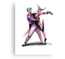 Joker & Quinn in bad love Metal Print