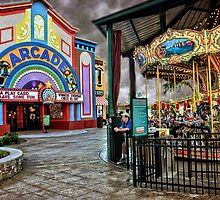 """The Island"" Carousel & Arcade by LarryB007"