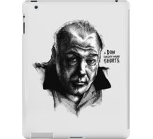 A don with Shorts - the Sopranos iPad Case/Skin