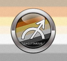 Sagittarius - Bear Pride  by LiveLoudGraphic