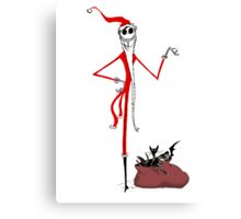 Sandy Claws - Nightmare before christmas Canvas Print