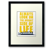 Life of Brian song Framed Print