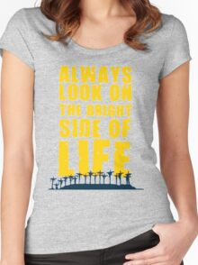 Life of Brian song Women's Fitted Scoop T-Shirt