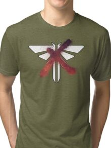 Fireflies The Last Of Us Tri-blend T-Shirt