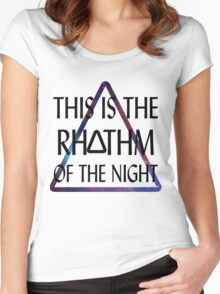 Of The Night - Bastille Women's Fitted Scoop T-Shirt