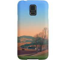Trees, panorama and sunset | landscape photography Samsung Galaxy Case/Skin