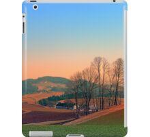 Trees, panorama and sunset | landscape photography iPad Case/Skin