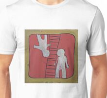 Acrylic painting Upside Down Unisex T-Shirt