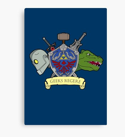 Geeks Rule Canvas Print