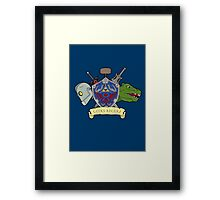 Geeks Rule Pocket Motif Framed Print