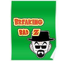 Crossover Breaking bad - Dragonball. Krillin Poster