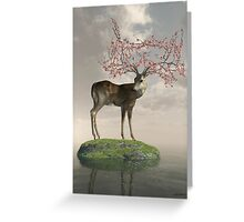 Guardian of Spring Greeting Card
